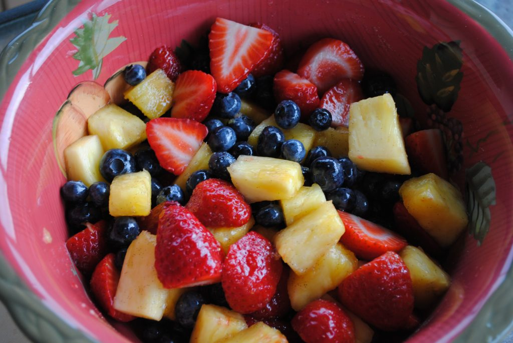 Honey Vanilla Fruit Salad