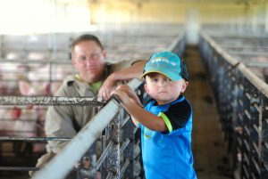 Teaching proper stockmanship to the next generation istop priority to our family.