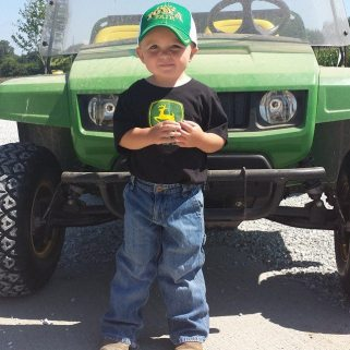 Met another guy this week w/ Prestage at #farmtopork and his nickname was Cookie. Here's my son who also bears the same nickname.