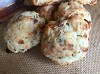 Toasted Onion Drop Biscuit