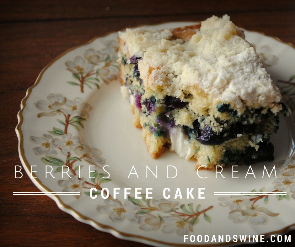 Berries and Cream Coffee Cake