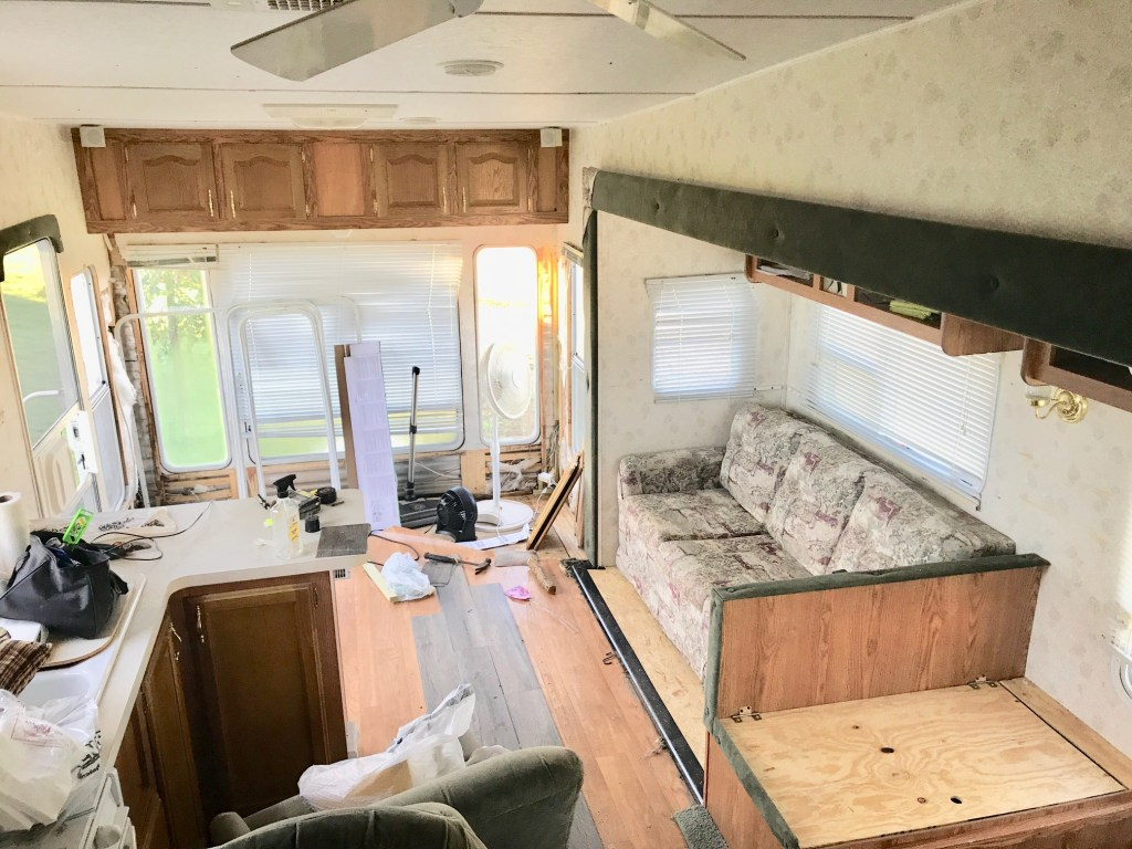 DIY Camper Renovation