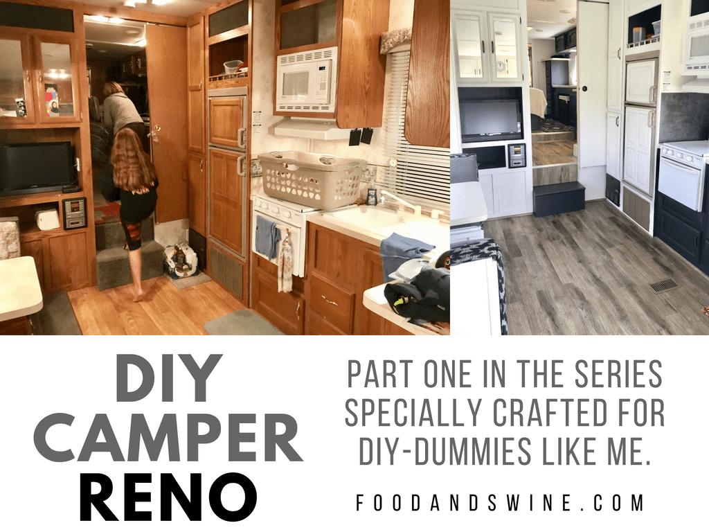 DIY Camper Reno