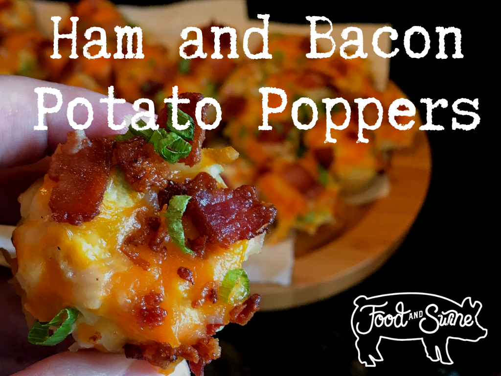 Ham and Bacon Potato Poppers