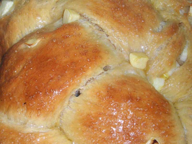 Apple Challah
