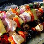 Grilled Chicken or Steak Kabobs