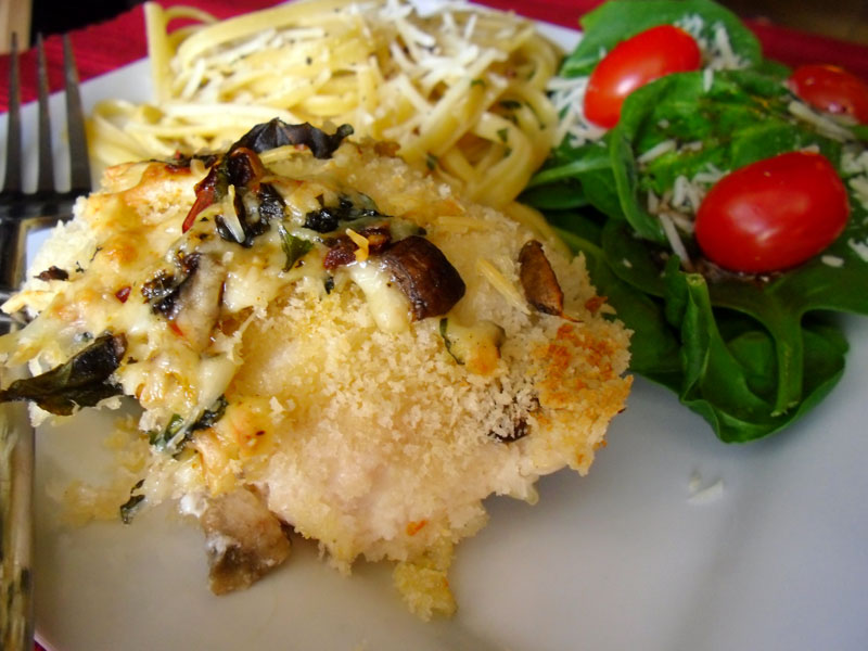 Stuffed Italian Chicken
