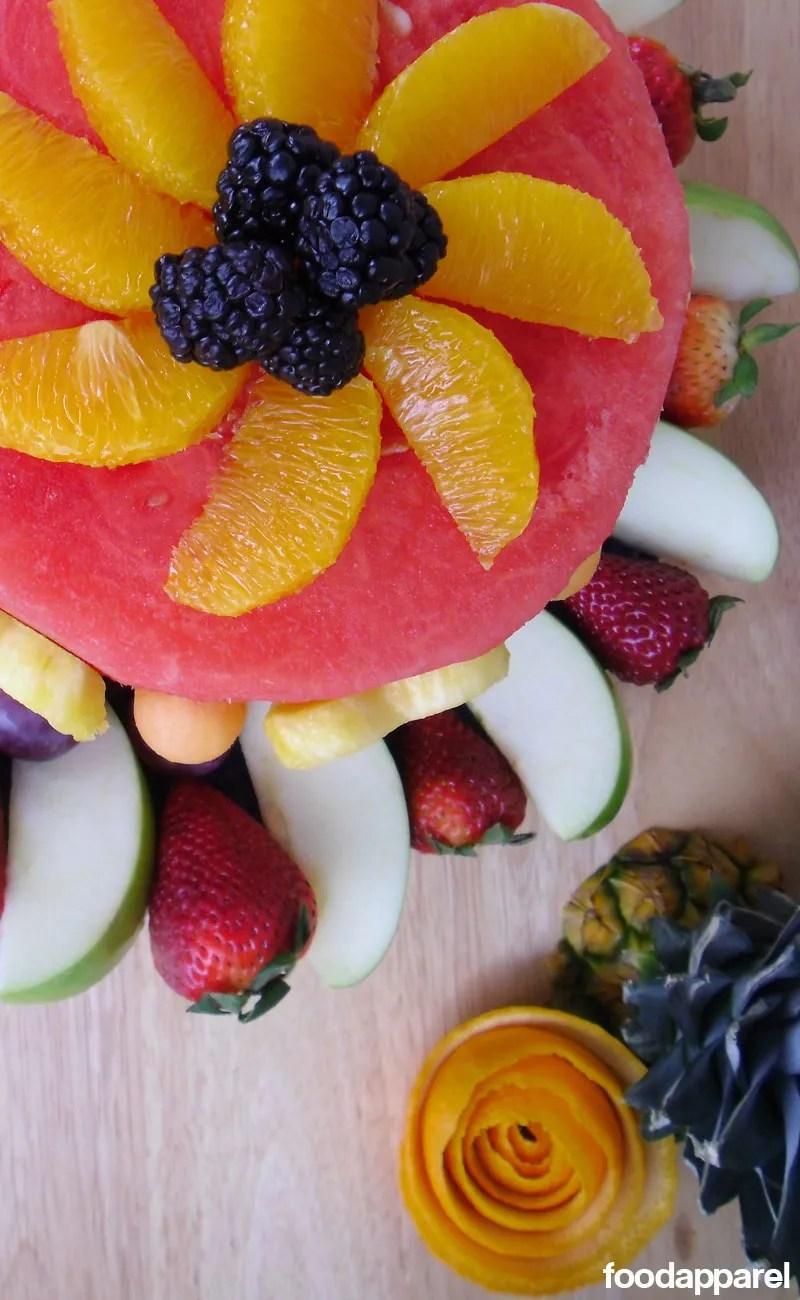 Groovy Fresh Fruit Cake Recipe Food Apparel Birthday Cards Printable Nowaargucafe Filternl