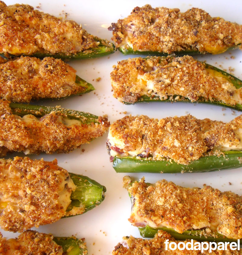 Jalapeno Poppers on foodapparel.com