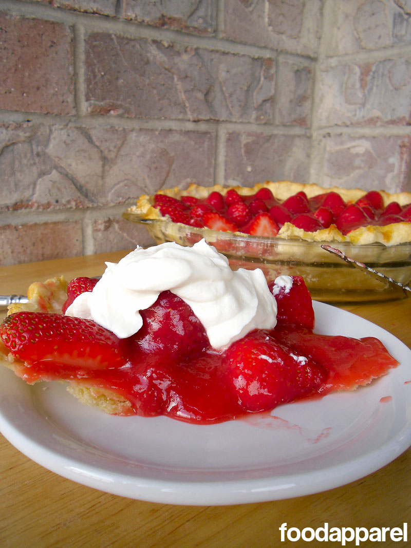 Fresh Strawberry Pie on foodapparel.com