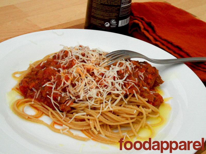Bolognese Sauce on FoodApparel.com