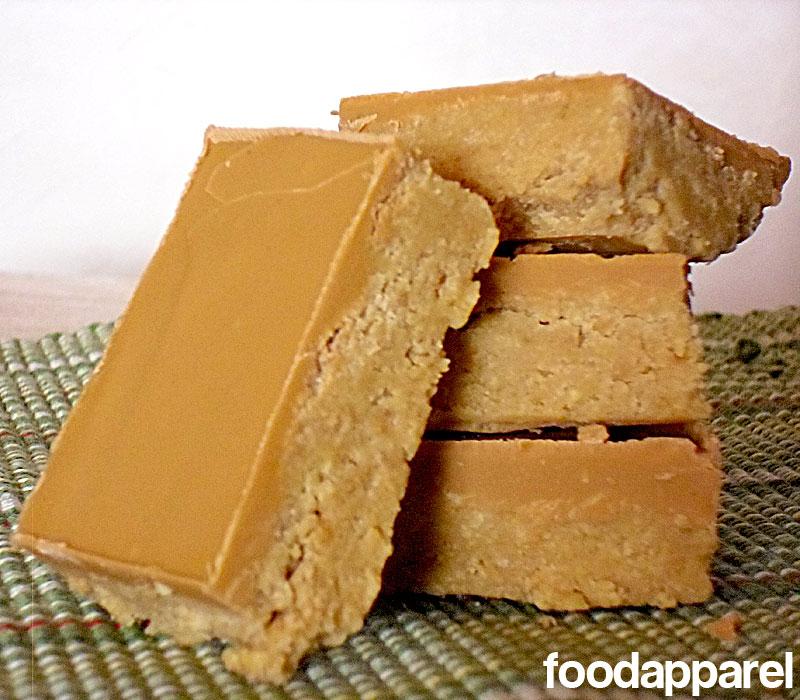Butterscotch Reese's Peanut Butter Bars at foodapparel.com