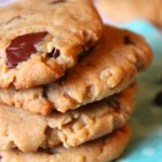 Peanut Butter and Honey Cookies....and don't forget the chocolate chunks!!!!