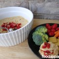 Roasted Red Pepper Hummus at FoodApparel.com