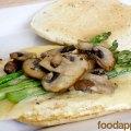 Asparagus, Mushroom and Swiss Egg White Sandwich at foodapparel.com