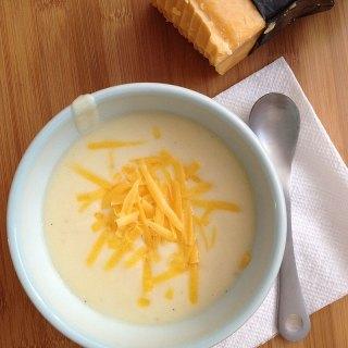 Cheddar Cauliflower Soup (Zupa's Copycat) on FoodApparel.com