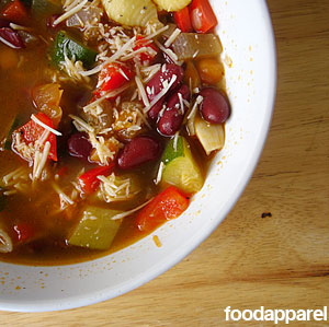 Garden Fresh Minestrone Soup Recipe