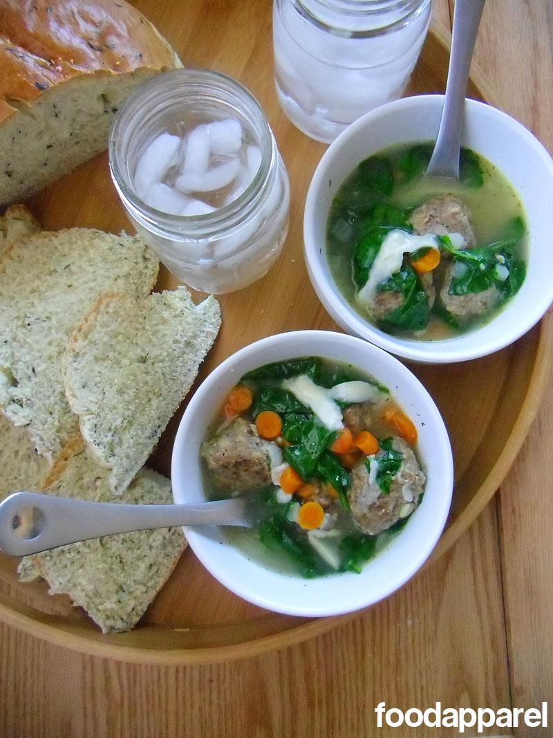 Italian Wedding Soup at FoodApparel.com