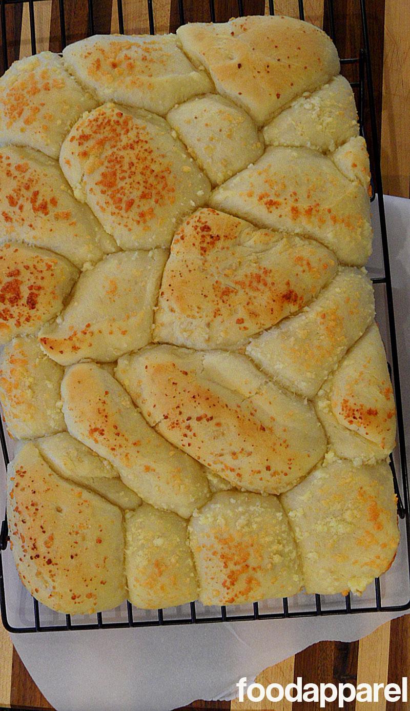 Parmesan Pull Apart Rolls on FoodApparel.com