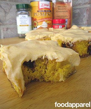 Pumpkin Cinnamon Rolls with Pumpkin Cream Cheese Frosting Recipe