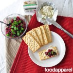 Savory Cranberry Chutney Recipe - this is perfect for eating with crackers and cheese or to dress up your turkey! No more canned cranberry jelly! @foodapparel