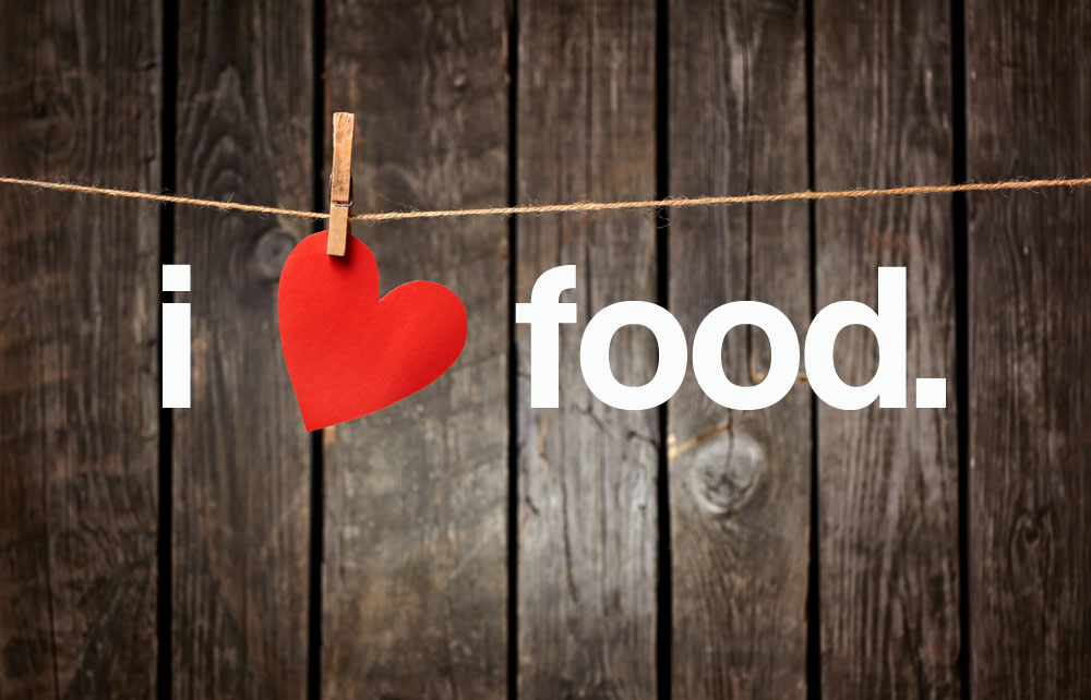 i-love-food (shutterstock edited image - all rights reserved)