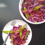 Chipotle Lime Coleslaw with Sugar Snap Peas at FoodApparel.com
