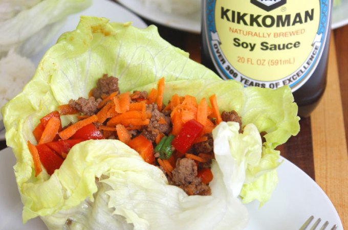 Quick and Easy Asian Lettuce Wraps Recipe