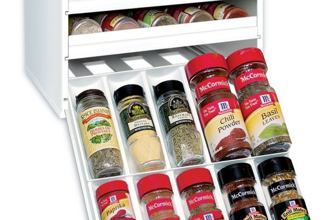 Spice Rack: Storage