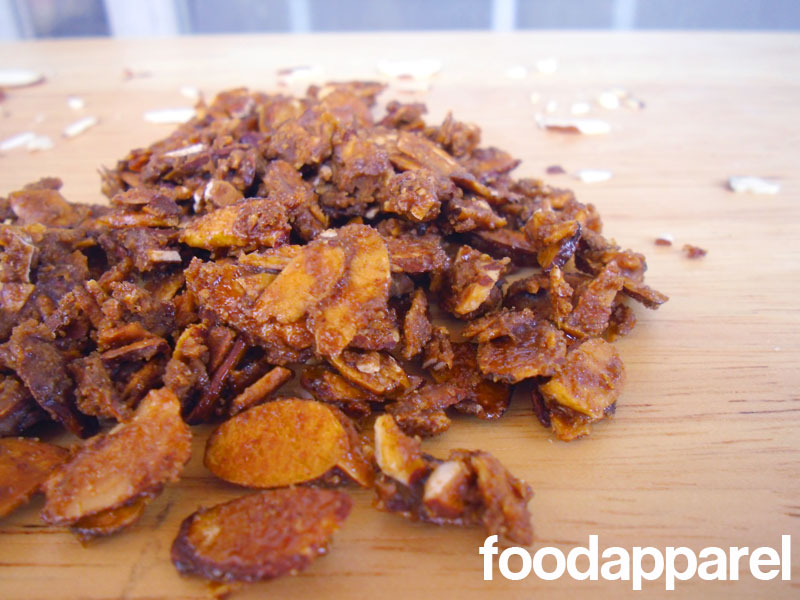 Candied Almond Slices at FoodApparel.com