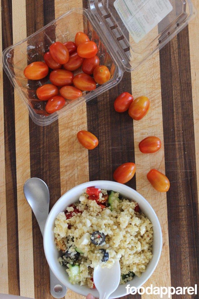 Greek Quinoa Salad at FoodApparel.com
