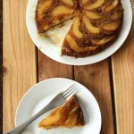 Pear Upside-Down Cake at FoodApparel.com