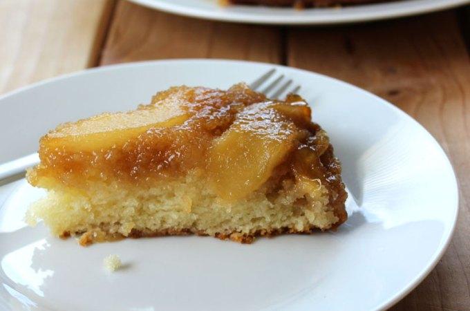 Pear Upside-Down Cake at FoodApparel.com