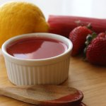 Strawberry Rhubarb Sauce at FoodApparel.com