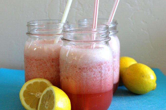 Easy Blender Strawberry Lemonade Slush Recipe
