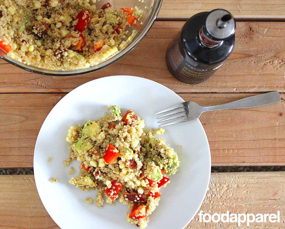 Summer  Garden Style Quinoa at FoodApparel.com