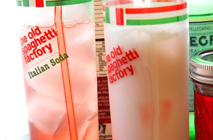 Easy Strawberry Italian Cream Soda Recipe