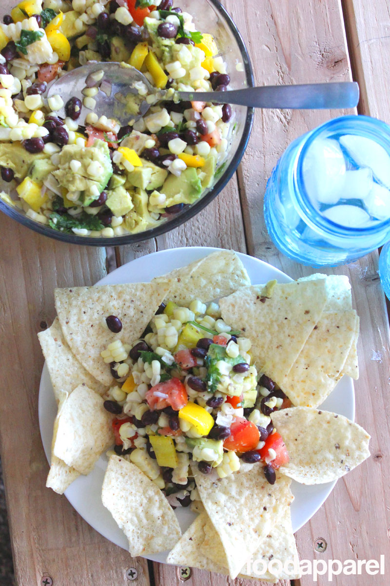 Fresh Corn Salad on FoodApparel.com