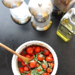Roasted Grape Tomato Salad at FoodApparel.com