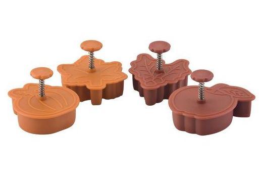 Paula Deen pie crust cutters - Fall themed