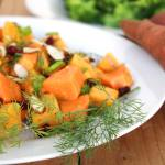 Sweet Potato Salad with Dill Vinaigrette Recipe @foodapparel