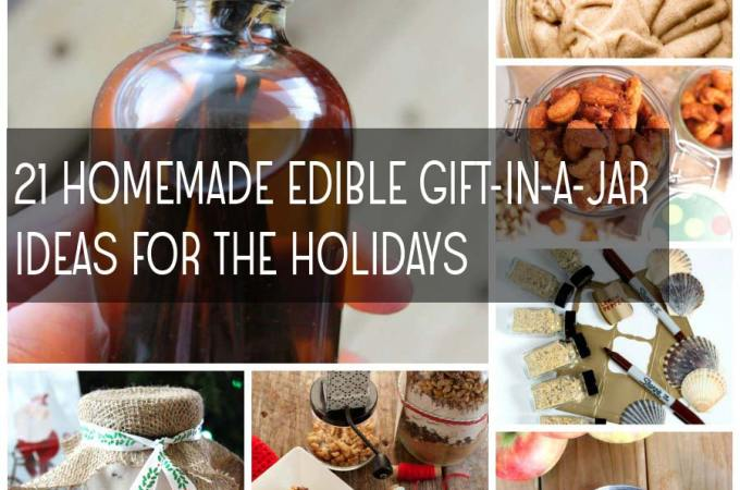 21 Homemade Edible Gift-In-A-Jar Recipes for the Holidays