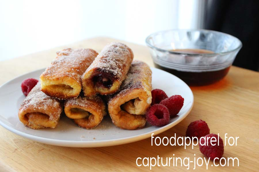 Stuffed French Toast Sticks @foodapparel