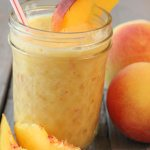 This Fresh Peach Juice Recipe is so refreshing and takes just minutes to make!