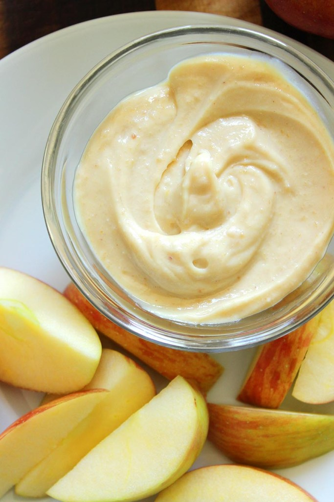Peanut Butter and Honey Greek Yogurt Dip. 3 Ingredients. Simple. Healthy!