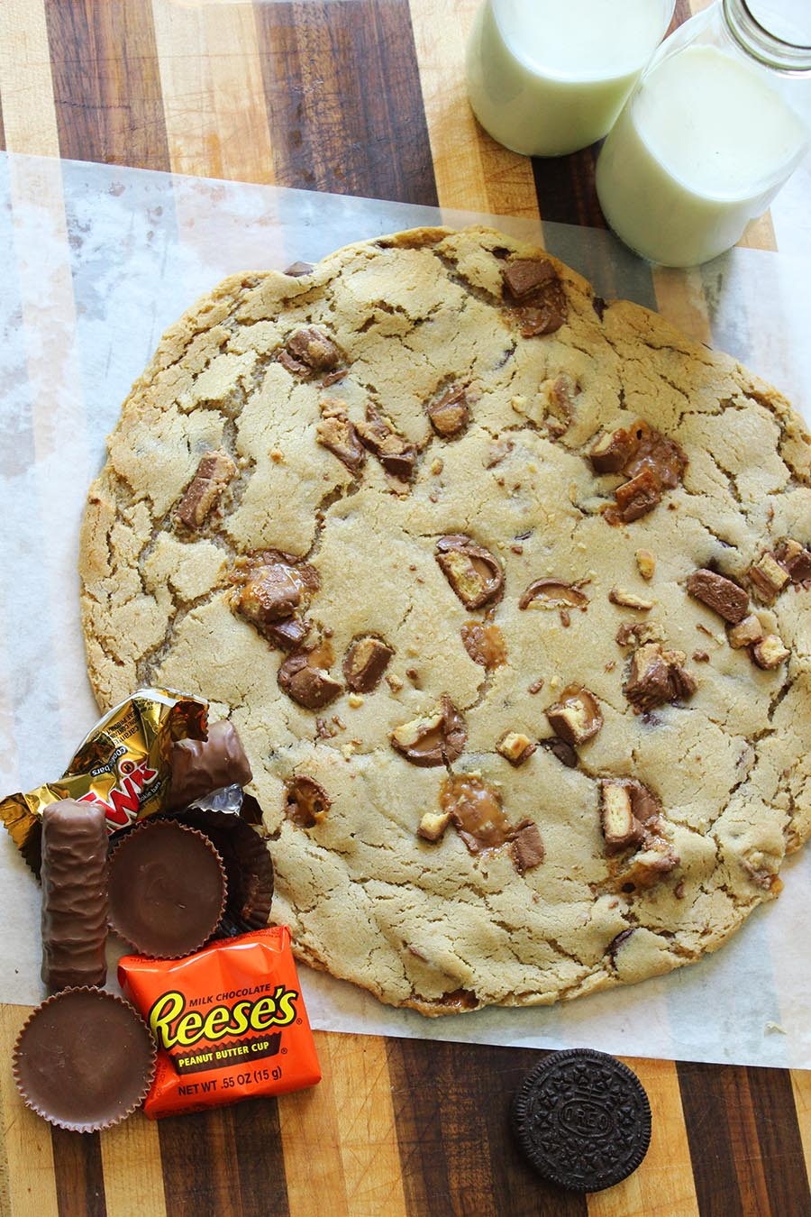 giant cookie recipe | food apparel