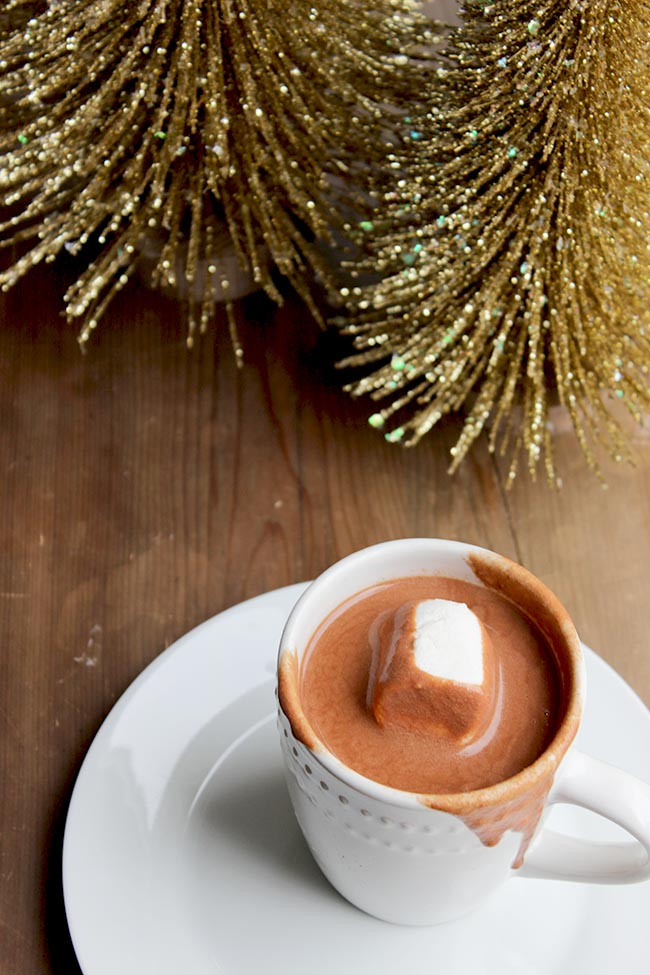 Easy and Delicious Italian Hot Chocolate Recipe! aka - Chocolate Lava - thick and creamy, and delicious!