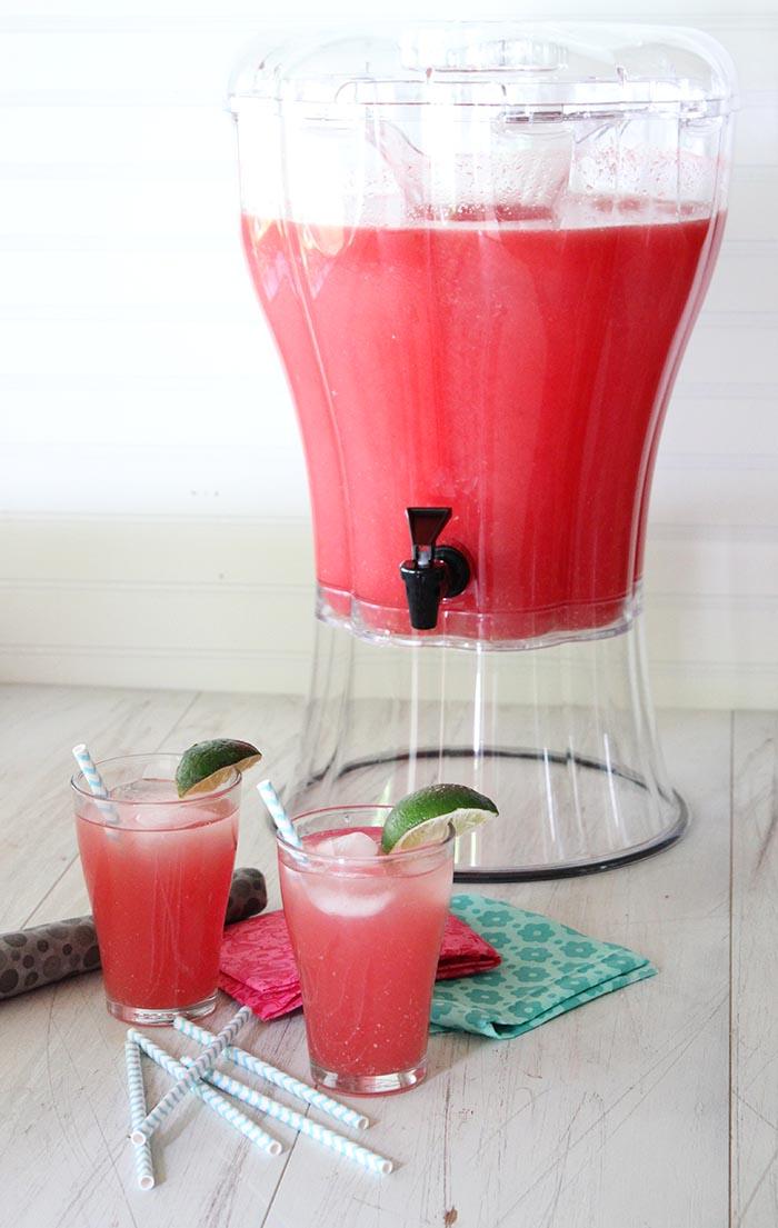 Agua de Sandia (Watermelon Agua Fresca)
