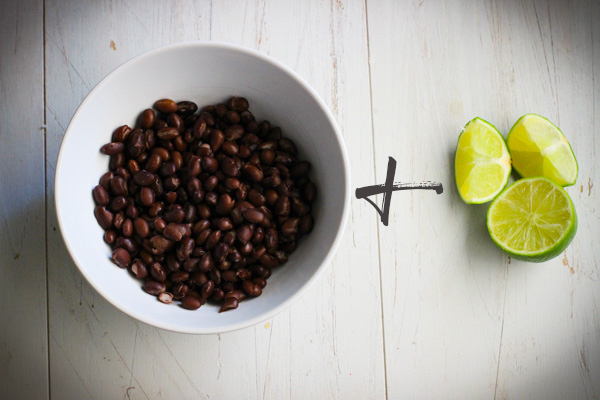 Black Beans Plus Lime