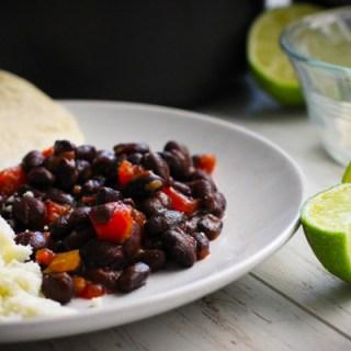 5 Ways to Dress up Black Beans